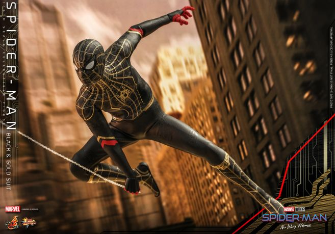 Hot Toys - Spider-Man - No Way Home - Black Suit - 10