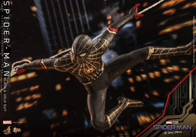 Hot Toys - Spider-Man - No Way Home - Black Suit - 13