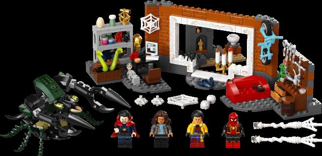 LEGO - Spider-Man No Way Home - Spider-Man at the Sanctum Workshop - Announcement - 02
