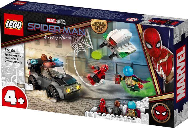 LEGO - Spider-Man No Way Home - Spider-Man vs Mysterios Drone Attack - Announcement - 01