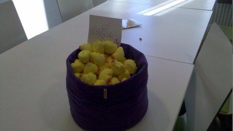 Pasqua in ufficio