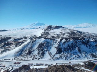 Mt. Erebus from the top of Ob Hill