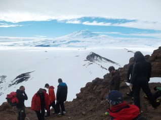 Mt. Erebus, and the large group we found on top of Castle Rock.