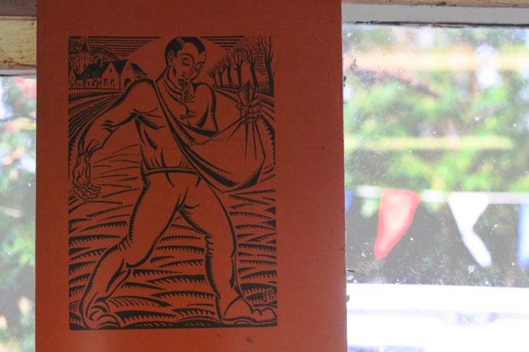 Window at Whittington Press © Sarah Dixon 2015