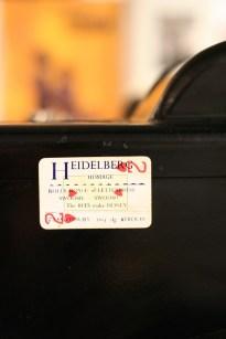 Heidelberg with Tribute at Whittington Press © Sarah Dixon 2015