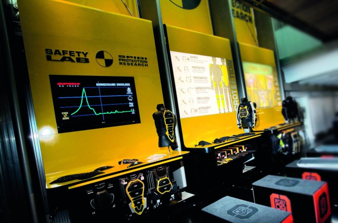 The Safety Lab: SPIDI's in-house laboratory.