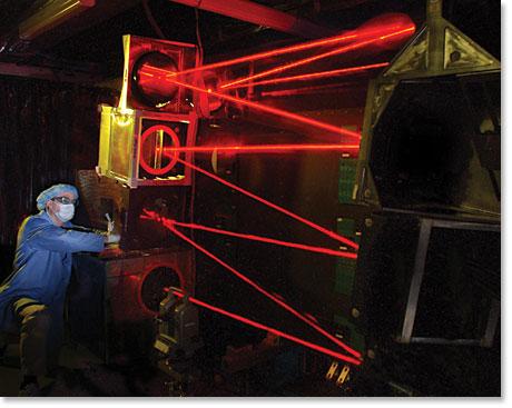 Lockheed Martin chemical oxygen iodine laser