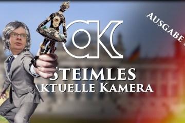 Steimles Aktuelle Kamera / Ausgabe 39; Bild: Startbild Youtubevideo Steimles Welt