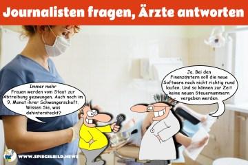 Frauenarztpraxis; Bild: Collage