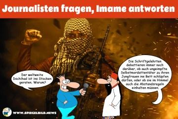Kämpfer des Politischen Islam; Bild: Collage
