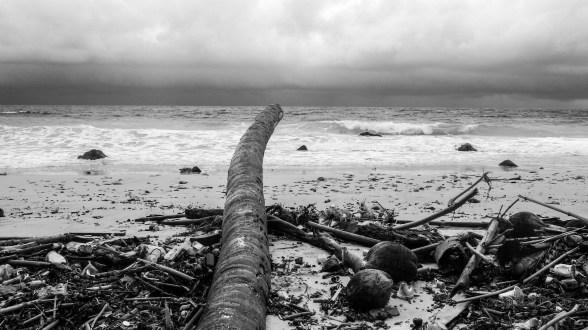 Sturm am indischen Ozean