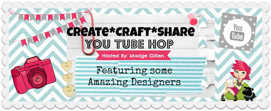 @jodyspiegelhoff @spiegelmomscraps @scrappinmadge, #youtubehop #createcraftshare #howto #altered
