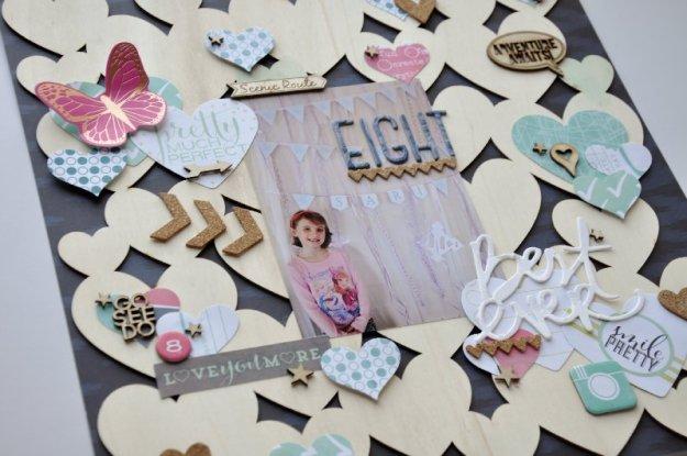 @jodyspiegelhoff @spiegelmomscraps @dearlizzy @freckledfawn @heidiswapp @echoparkpaper, #woodveneer #hearts #heidiswapp #dearlizzy #fiskars #chevron #arrow #spiegelmomscraps #cork #embellishment