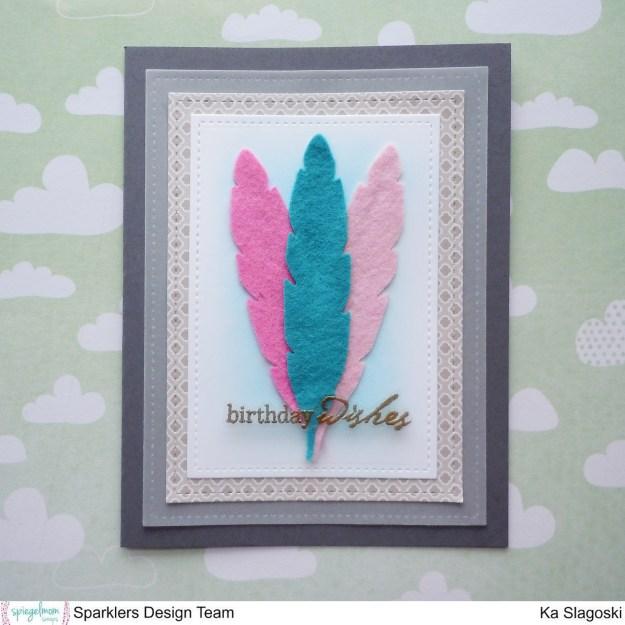 Felt Feathers 1