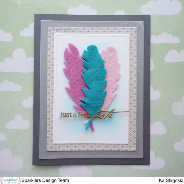 Felt Feathers 2
