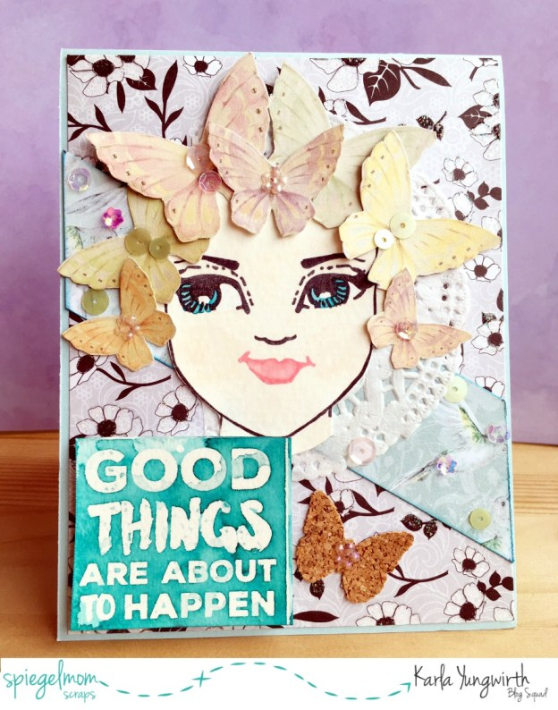 Creative Cards With Karla – Good Things Card!