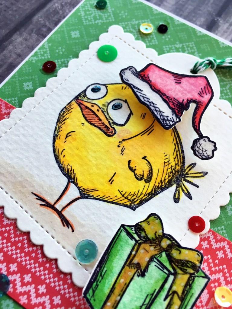 @jodyspiegelhoff @spiegelmomscraps @timholtz @prettypinkposh @lawnfawn #smssequins #sequins #christmas #christmascard #timholtz #crazybirds #stamping #watercolor #Prettypinkposh #diecut #lawnfawn #patternedpaper