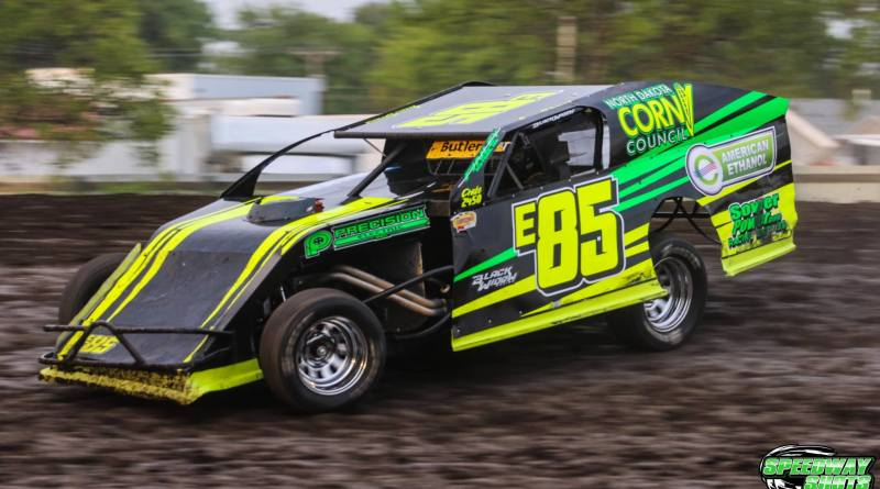 Jason Strand, E85 Racing, IMCA modifieds