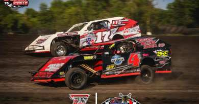 IMCA Modifieds, Rob VanMil, Michael Greseth, Buffalo River Race Park, BRRP