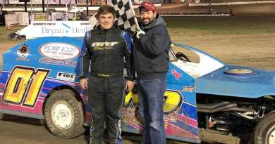 Jacob Hobscheidt, IMCA Modifieds, Eagle Raceway, Dirt Dominator