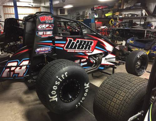 Brian VanMeveren, Wingo Brothers Racing, USAC Sprint Cars