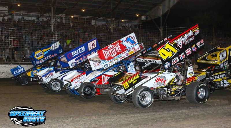 World of Outlaws, River Cities Speedway, Speedway Shots, Sprint Cars, Outlaw Sprints, World of Outlaws Sprint Cars