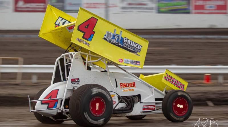 Lee Grosz, Jackson Motorplex, MSTS 360 Sprints