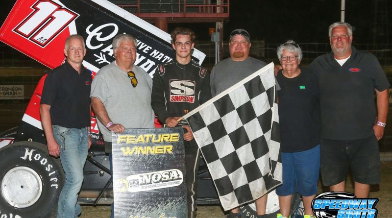 Brendan Mullen, Devils Lake Speedway, NOSA Sprints