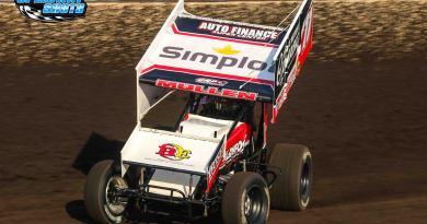 Brendan Mullen; NOSA Sprints; River Cities Speedway; Husets Speedway