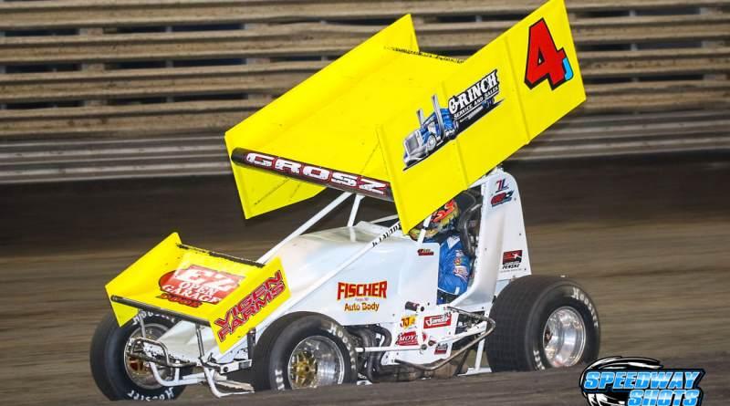 Lee Grosz, Ogilvie Speedway, Rapid Speedway, MSTS 360 Sprints