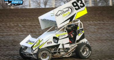 Kelsi Pederson, River Cities Speedway, Devils Lake Speedway, POWRi Minn-Kota Lightning Sprints