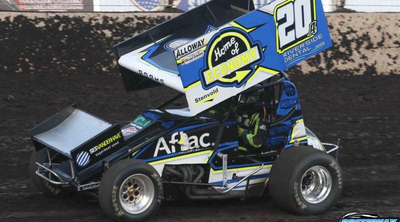 Jordan Adams, River Cities Speedway, Park Jefferson Speedway, Husets Speedway, NOSA Sprints