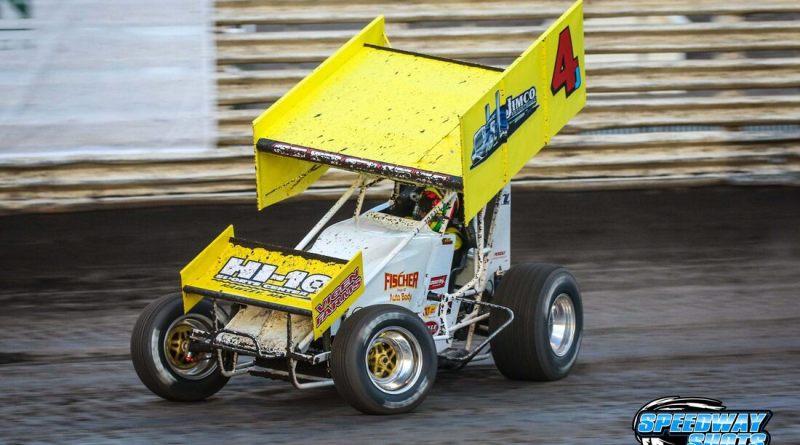 Lee Grosz, I-90 Speedway, MSTS 360 Sprints