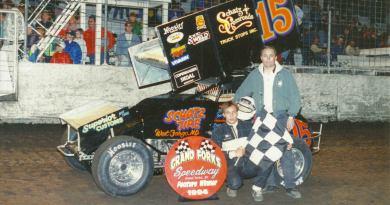 Donny Schatz, River Cities Speedway, NOSA Sprints