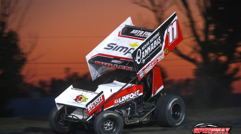 Brendan Mullen, Red River Valley Speedway, NOSA Sprints