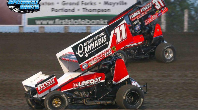 Brenden Mullen, River Cities Speedway, NOSA Sprints