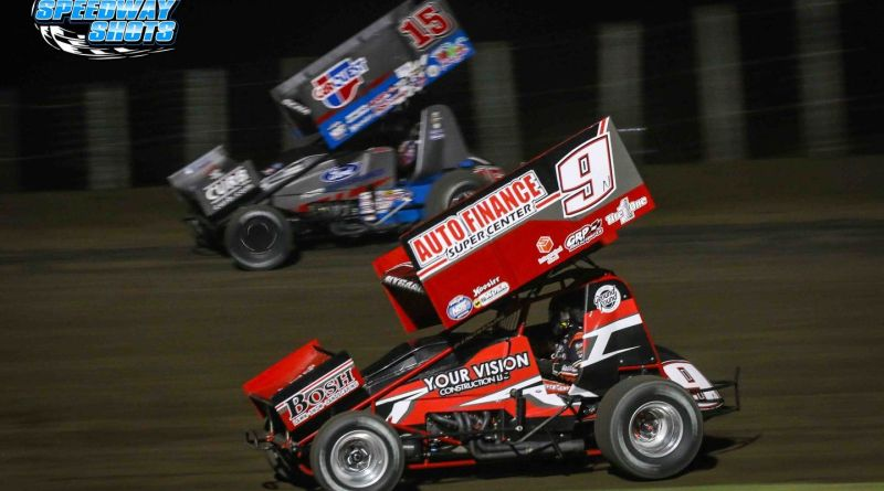Wade Nygaard, World of Outlaws Sprint Cars, River Cities Speedway