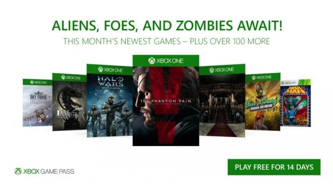 Xbox Game Pass November Hero Image