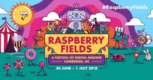 Raspberry Pi two-day digital making event Raspberry Fields