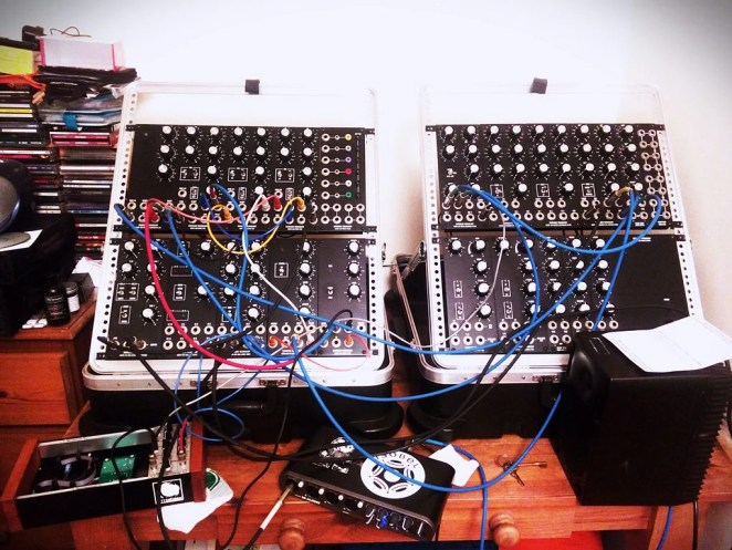 MOTM modular - Synth patch for second commission (by Charles Hutchins)