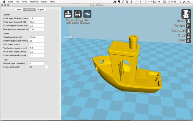 Best 3D Slicer Software #4: Cura