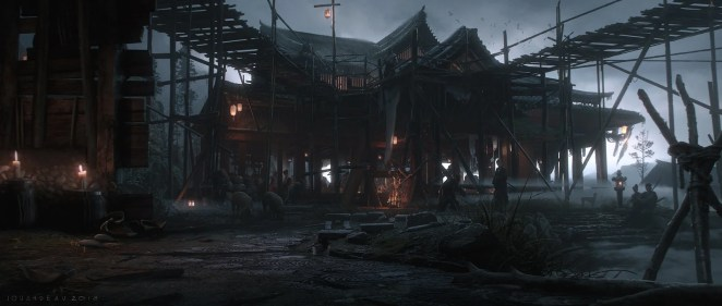 Ghost of Tsushima - Concept Art