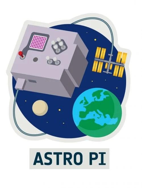 Logo of the European Astro Pi Challenge