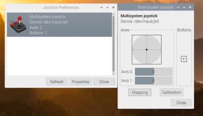 The jstest-gui program allows you to test your joystick and also indicates whether it's working as it's supposed to