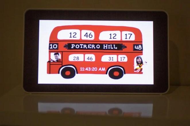 Raspberry Pi bus schedule