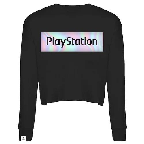 Playstation Gear Store Europe - Women's Iridescent Semi-Crop Shirt