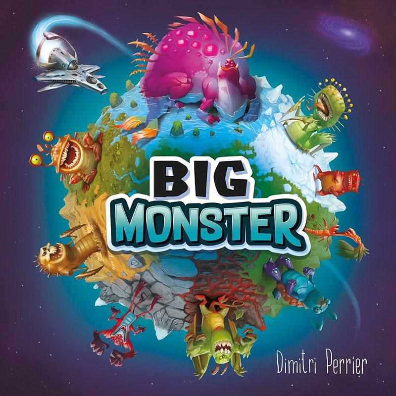Schachtelvorderseite Big Monster