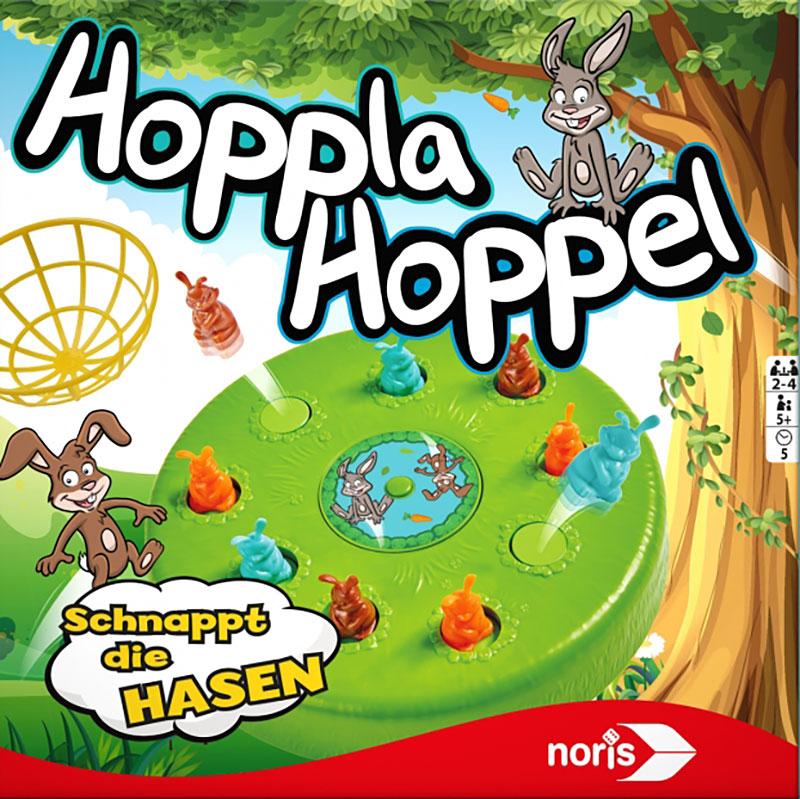 Schachtel von Hoppla Hoppel