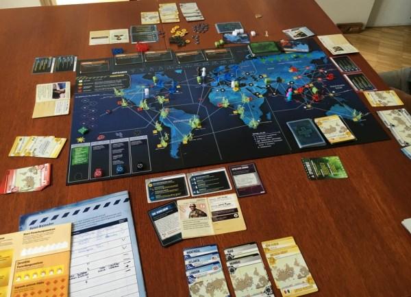 Pandemic Legacy - Spiel im September