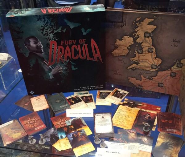 Fury of Dracula - Spielmaterial